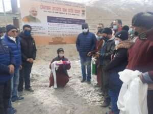 ladakh village gets electricity after 70 years