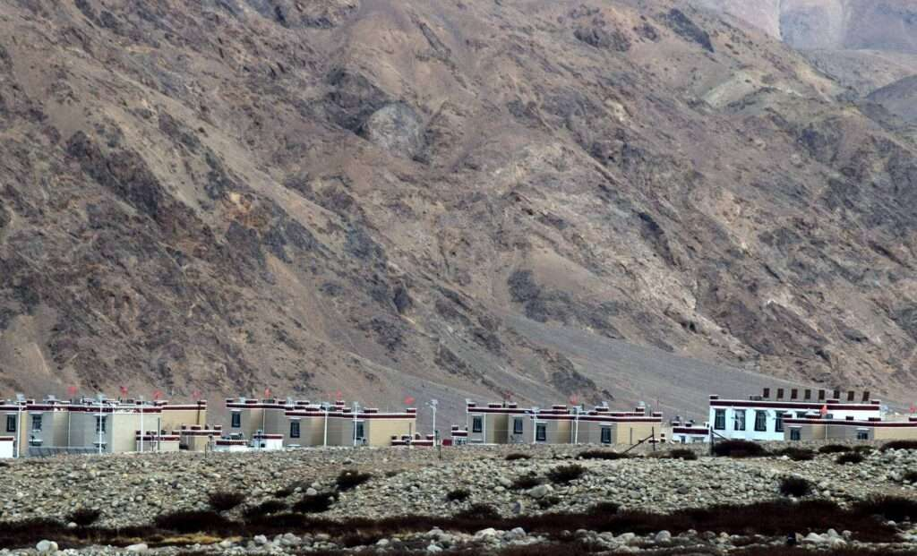China builds houses for nomads in demchok