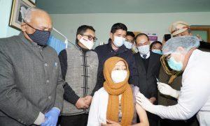 covid 19 vaccine in ladakh