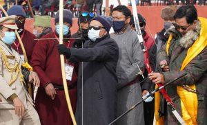Kiren Rijiju, inaugurates 1st Khelo India Ladakh Winter Games
