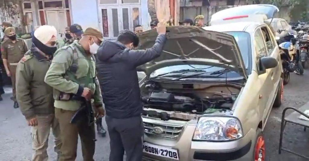 car recovered from terrorist