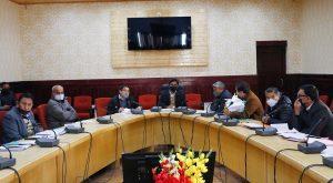 LAHDC leh budget meeting