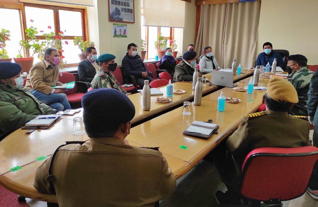 Ladakh meeting covid