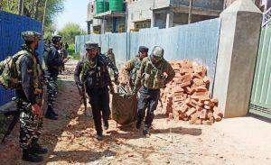 Encounter in Shopian in which a 14 year old minor militant was killed