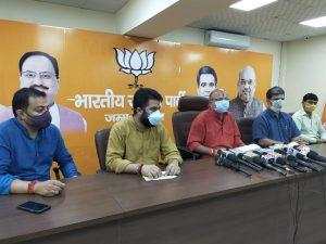 BJP leaders blame J&K administration for Covid situation