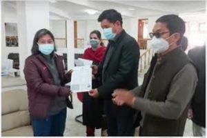 vaccination driver for govt employees in ladakh
