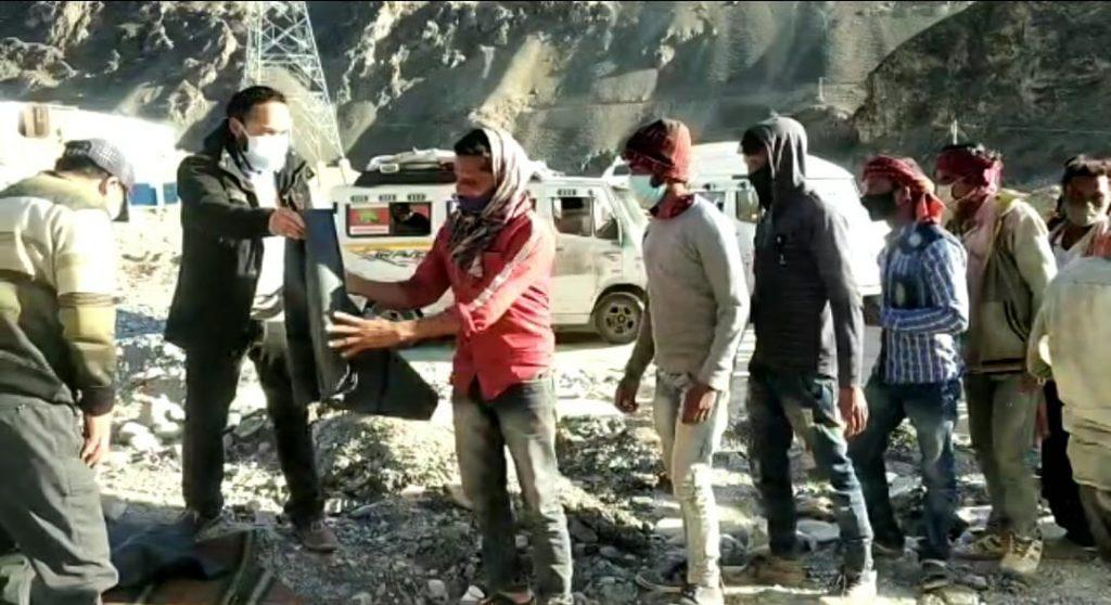 Labourers in ladakh