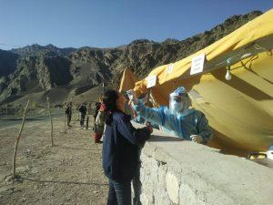 Covid testing ladakh