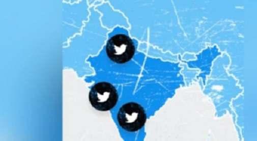 ट्विटर ने जम्मू-कश्मीर को चीन के हिस्से के रूप में दिखाया
