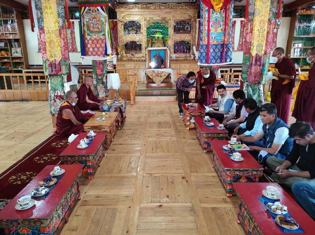 Tibetan refugees in Leh of Ladakh