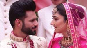 Rahul vaidya is now husband of disha parmar