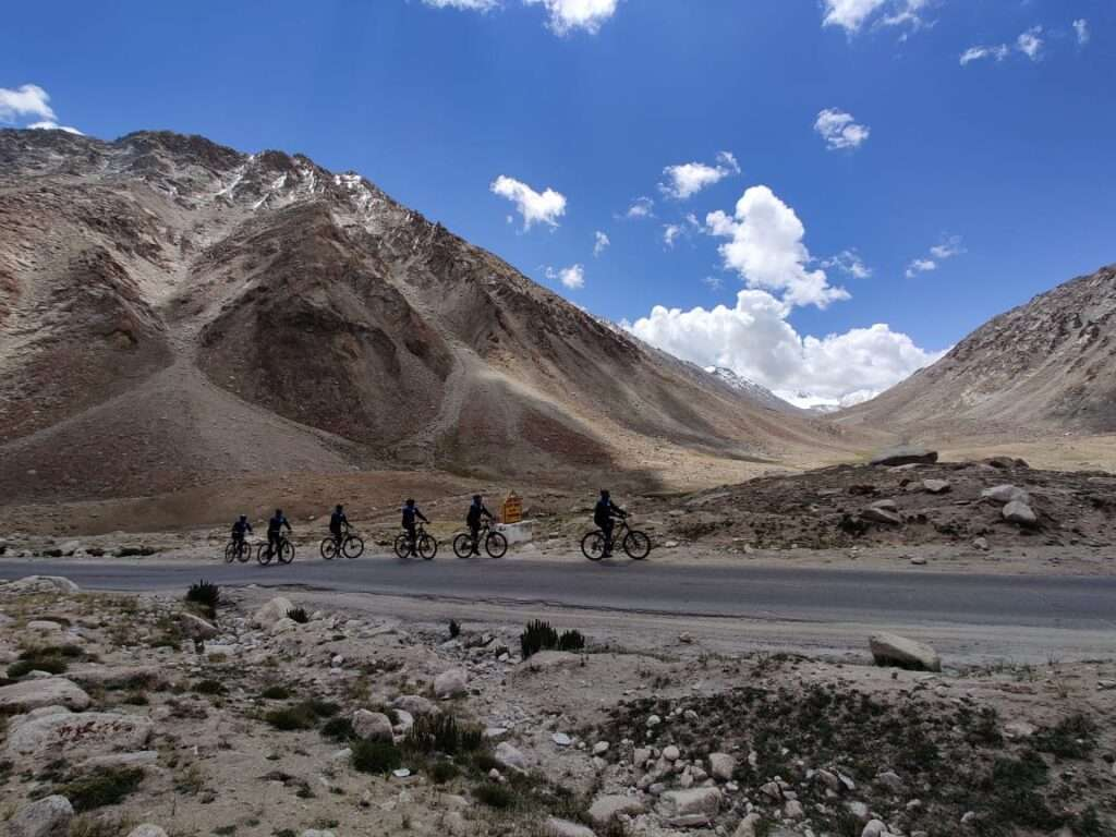 Cycle rally by ITBP from Ladakh to Gujarat. Pic: JK Newsline